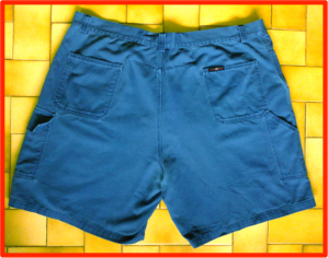 Shorts with Red border