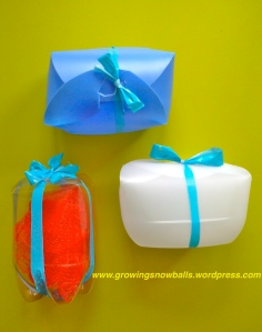 Gift Box with Ribbons