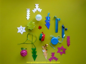 Christmas Decorations you can make from everyday items