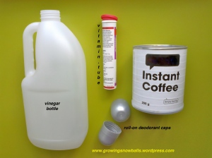 BEFORE These are the everyday items that have been Repurposed