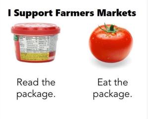 Farmers Market packaging