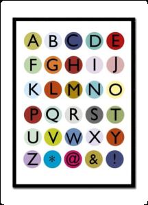 children alphabet learning