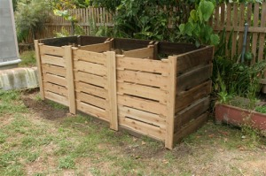 Three Bay Hot Composting System