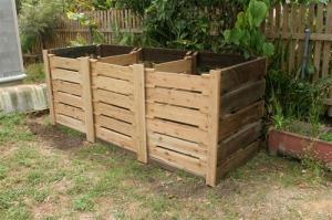 Three Bay Hot Composting System